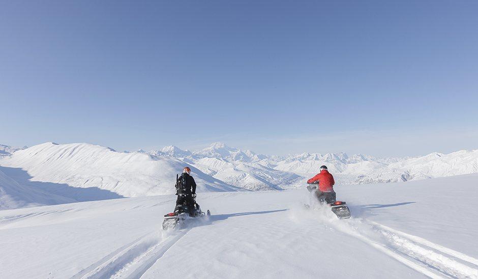 snowmobiles in Alaska